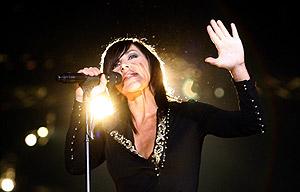 Ana Torroja en una de sus actuaciones. (Foto: EFE)