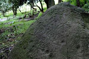 Imagen del grabado sobre piedra del dios azteca de la lluvia. (Foto: EFE)