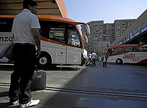 Estación de autobuses de Conde de Casal. (Foto: Antonio Heredia)