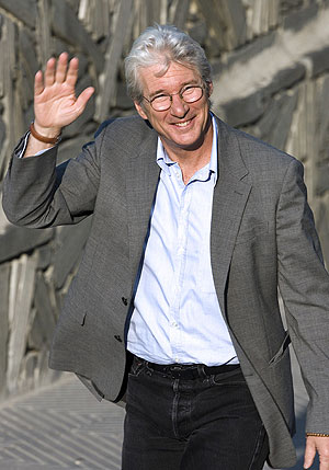 Richard Gere en San Sebastin. (Foto: REUTERS)