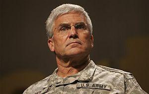 El general George Casey, jefe de Estado Mayor de EEUU, en Washington. (Foto: AP)
