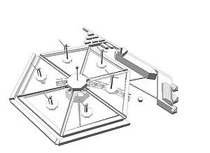 Diseño arquitectónico de una isla energética (Foto: Energyisland)