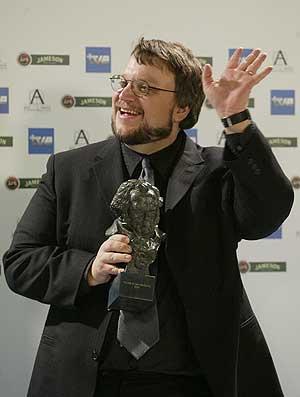Guillermo del Toro, en la pasada edición de la gala de Los Goya. (Foto: Kike Para)