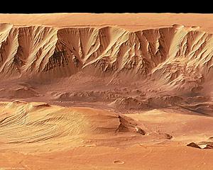 Valles en Marte. (ESA)