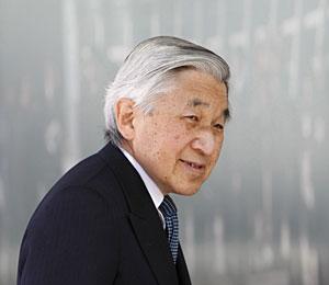 El emperador, el pasado 18 de febrero. (Foto: Reuters)