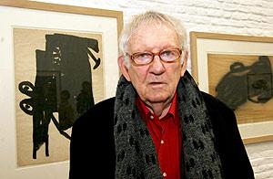 Hugo Claus, en dicimebre de 2004, cuando presentó su biografía. (Foto: EFE)