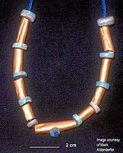 Una de las piezas halladas (Foto: PNAS)