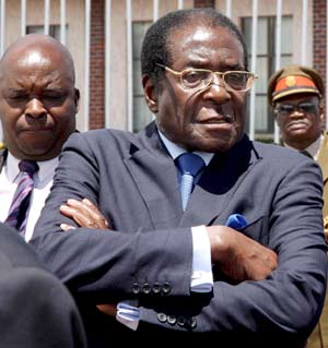 El presidente de Zimbaue, Robert Mugabe (Foto: EFE)