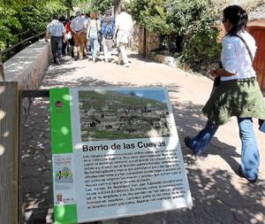 Inauguración de dos nuevas sendas en el espacio natural de las Hoces del Río Duratón. (FOTO: FERNANDO PEÑALOSA)