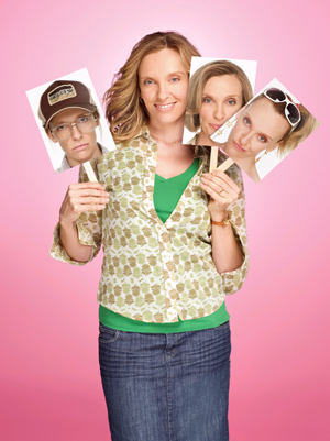 Foto promocional de Toni Collette en 'The United States of Tara'.