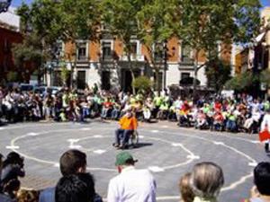 Imagen de una de las actividades anteriores a la marcha (Foto: Carlos Papillón).