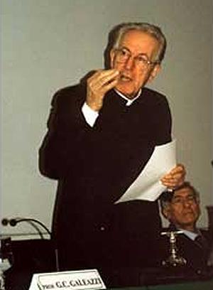 El 'exorcista del Vaticano', Corrado Balducci.
