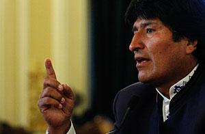 Morales, en una imagen de archivo. (Foto: AP)