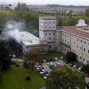 La Universidad de Navarra, escenario del último atentado de ETA. (Foto: Justy)