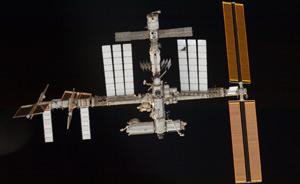Los componentes actuales de la Estación Espacial Internacional. (Foto: ESA)