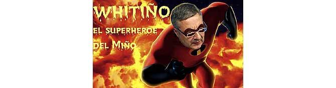 Whitiño, el héroe del Miño