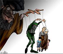 Hamas y palestinos, como marionetas de Irán. S. Cohen.