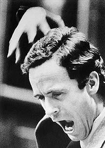 Bundy durante el juicio.