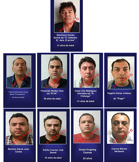 La Linea Z Beltral Leyva Aztecas Valencia Contra El Chapo