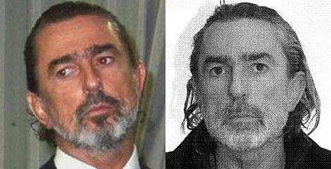 La imagen de Francisco Correa antes, y ahora en la ficha policial. | Veo7