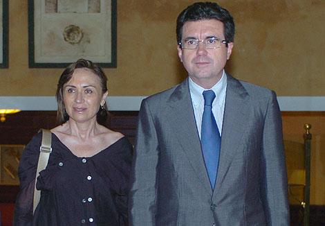 Jaume Matas y Maite Areal en una conferencia | Pep Vicens