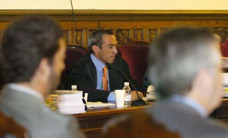 El juez De Urquía en el juicio celebrado en julio en el TSJA de Granada. | elmundo.es