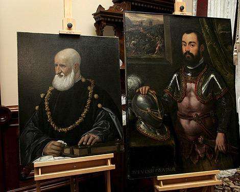 Las dos obras entregadas a los herederos de Oppenheimer. | Efe