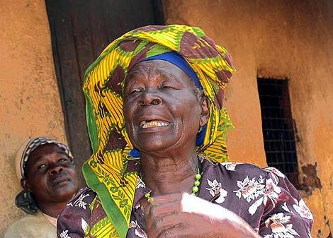 Sarah Onyango Obama. | Foto: AFP