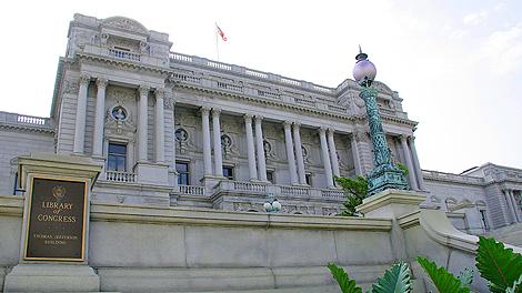 La Biblioteca del Congreso de EEUU, una de las creadoras de esta propuesta. | AFP
