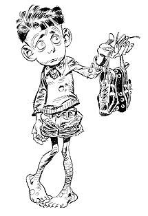 Uno de los personajes de 'Paracuellos'.