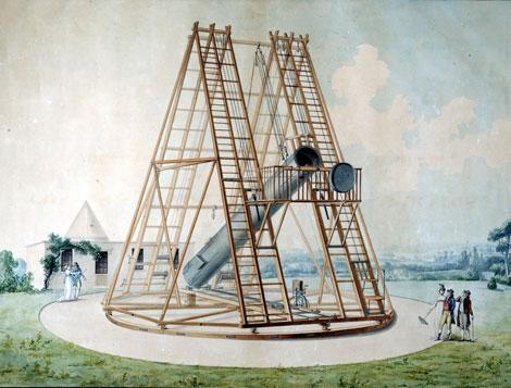 Telescopio de Herschel del Observatorio de Madrid. | Observatorio Astronómico Nacional (IGN)