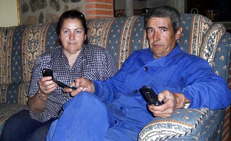 Manuel Vicho y Dolores, en su casa de Valencia de Alcántara (Cáceres). | D. V. y J. P.