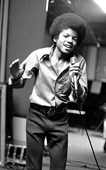 A los 13 años, junto con el grupo familiar, los 'Jackson Five'. | Ap
