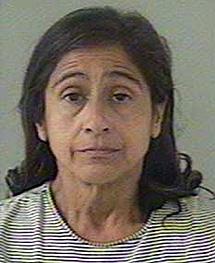 Nancy Garrido, la esposa del agresor, también detenida.   Reuters