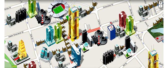 Así será el Monopoly mundial sobre Google Maps.