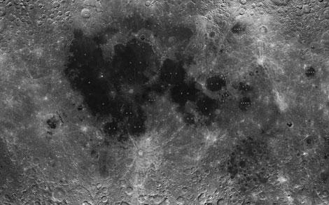 Una de las imágenes captadas por la sonda Chang'e-1 para realizar el mapa de la Luna. | CNSA