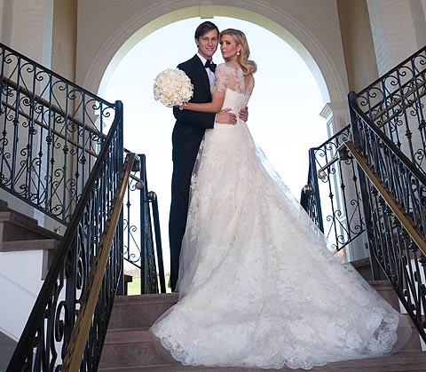 Ivanka Trump se casa con Jared Kushner, hijo de otro millonario ...