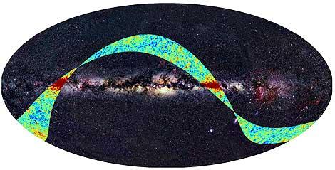 Las primeras observaciones realizadas por Planck | ESA y Axel Mellinger.
