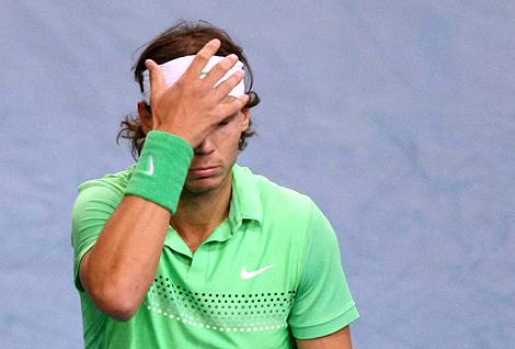 El tenista mallorquín, Rafa Nadal, derrotado por Djokovic en París. | Efe