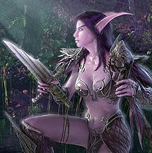 La elfa que promocionó el lanzamiento del Wow original