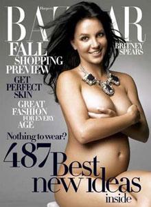 Una de las portadas más conocidas de la revista, con Britney Spears.