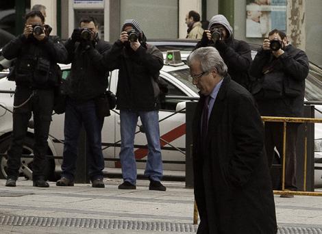 El juez Garzón a su llegada a la Audiencia Nacional. | Gonzalo Arroyo