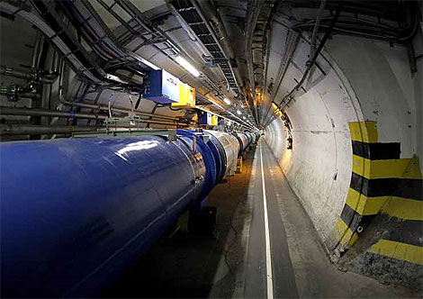 Una imagen del Gran Colisionador de Hadrones.| Efe