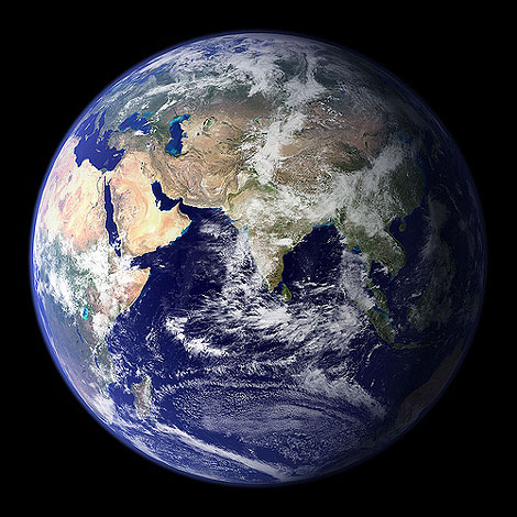 La nueva 'Blue Marble' que ha publicado la NASA en Flickr.
