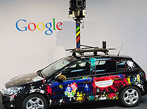 Uno de los coches de Street View. | Afp