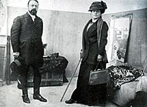 Matisse y su esposa Amelie. | Efe