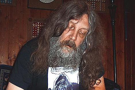 El guionista de cómics Alan Moore.