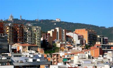 Vista del barrio del Carmel.| Joan Manuel Baliellas