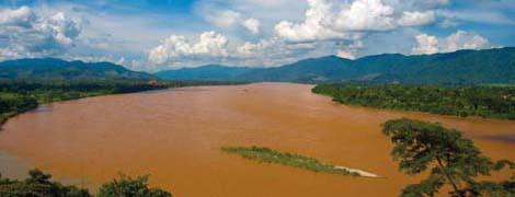 Vista general de Río Mekong al norte de Tailandia. | WWF