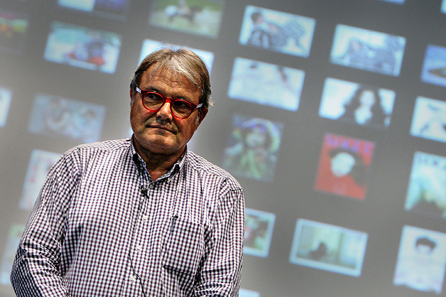 Oliviero Toscani, en la Campus Party. | Efe